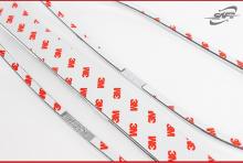 Накладка SafeK-518 Chrome- молдинг заднего бампера и рефлекторов противотуманных фонарей - Стайлинг Хендэ Санта Фе ДМ 3.