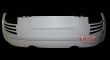 Альтернативный тюнинг заднего бампера для Ауди ТТ 8Н из обвеса Munferg от компании Creator.