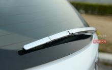 Молдинг задней щетки стеклоочистителя для Mazda CX-5 (4 элемента). Хром. Быстрая установка.