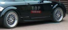 Альтернативный тюнинг накладок на пороги для Ауди ТТ 8Н из обвеса Stinger от компании Creator.
