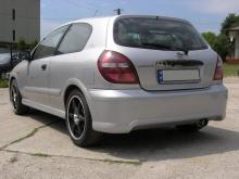 Аэродинамический обвес GT от компании Creator - Тюнинг Ниссан Альмера 2-ого поколения, кузов N16, версия 3-х дверный хетчбэк.