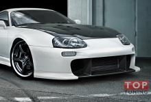 Модификация легендарного обвеса ТРД для Тойота Супра - Передний бампер.