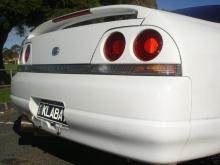 Облегченная версия крышки багажника для Nissan Skyline GTR R 33 OEM.