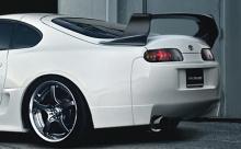 Комплкет накладок заднего бампера TRD Style - Тюнинг Тойота Супра 80.