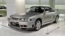 Облегченная версия передних крыльев OEM для Nissan Skyline GTR R33.