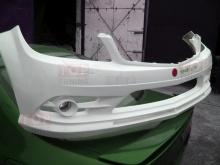 Новинка 2013 года! Альтернативный передний бампер - Обвес АМГ стайл - Тюнинг Мерседес Бенц Ц класс - 204 кузов.