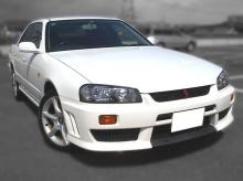 Облегченная версия капота для Nissan Skyline GTS R34.