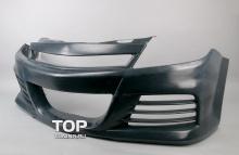 Передний бампер - Модель Ригер - Тюнинг Опель Астра Н (подходит на GTC и 5D)