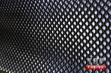 Новинка! Пластиковая сетка Bentley Style для бамперов, решеток радиатора, воздухозаборников - лист увеличенного размера, черного цвета.