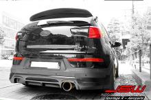 Оригинальный спойлер на крышку багажника - Тюнинг Киа Спортаж 3. Производство JSW (Корея).
