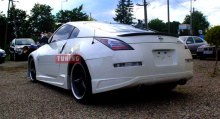 Юбка на задний бампер - тюнинг Auto R Kisaragi на Nissan 350Z Z33.