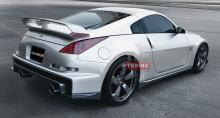 Накладки на пороги - Тюнинг Auto R Kisaragi на Nissan 350Z