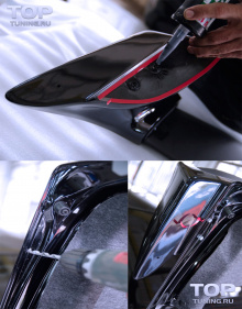 Спойлер крышки багажника Mugen ABS на Honda Accord 7