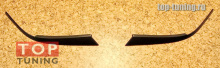 Накладки на передние фары - реснички - Тюнинг Хогда Аккорд 7.