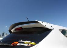 Спойлер на багажник - Тюнинг Хёнде Санта Фе ДМ (3 поколение) от производителя My Ride (Корея).