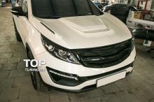 Решетка радиатора - Модель Road Runs - Тюнинг Киа Спортедж 3 (R).