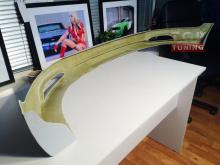 Накладка на передний бампер - Обвес «IXION» на Киа Спортейдж 3.