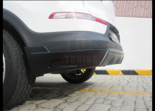 Накладка на задний бампер -Тюнинг обвес «Zest» для автомобилейКиа Спортейдж 3