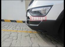 Накладка на передний бампер -Тюнинг обвес «Zest» для автомобилейКиа Спортейдж 3