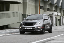 Тюнинг Kia Sportage 3 (III) - обвес Cross от Bliss & Fluxion