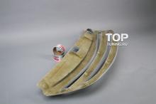 Решетка радиатора - Модель JSW - Тюнинг Киа Спортейдж 3