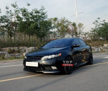 Накладка на передний бампер - Тюнинг обвес «NEFD Design Lite» для автомобилей Kia Cerato Forte Sedan