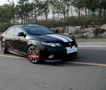 Тюнинг  Kia Cerato Forte Sedan - Пороги