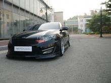 Накладка на передний бампер - Тюнинг обвес «NEFD Design» для автомобилей Kia Optima / K5