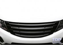 Решетка радиатора без эмблемы - Тюнинг БЛИСС на КИА Соренто