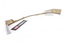 Юбка на передний бампер + пороги Freestyle Sport для Хендай Солярис