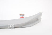 Трехсоставная юбка на передний бампер - Модель Free Style - Тюнинг Киа Церато 3