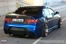 448 Пороги - Обвес Auto-R на Honda Accord 7