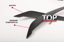 ТЮНИНГ ХЕНДАЙ СОНАТА 6 (YF) 2009-2014 НАКЛАДКИ FLUXION & BLISS НА ПЕРЕДНИЕ ФАРЫ
