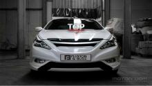 4486 Реснички F&B ABS на Hyundai Sonata 6 (YF)