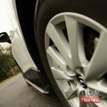 Пороги ступени с подсветкой для Mazda CX5 купить!