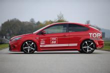 Передний бампер - Обвес Ригер RS Design - Тюнинг Форд Фокус 2 (рестайлинг)