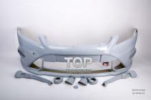 4504 Передний бампер RIEGER RS Design рестайлинг на Ford Focus 2