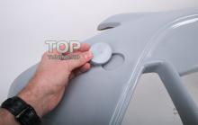 Заглушка в Передний бампер - Обвес Ригер RS Design - Тюнинг Форд Фокус 2 (рестайлинг)