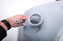 Кольца для ПТФ в Передний бампер - Обвес Ригер RS Design - Тюнинг Форд Фокус 2 (рестайлинг)