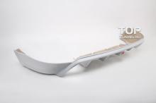 Накладка на задний бампер - Модель Rieger Sport - Тюнинг Форд Фокус 2.