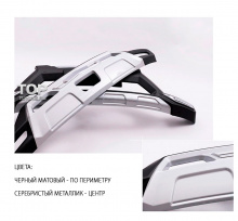 Накладка на задний бампер TECH Design 4sport