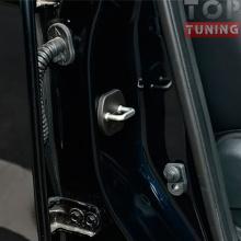 Заглушки на дверные скобы Nissan X-Trail - комплект 4 штуки
