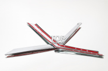 4532 Молдинги решетки радиатора TECH Design на Nissan X-Trail T32
