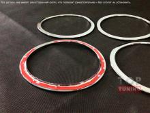 Тюнинг салона Nissan X-Trail Т32 - декоративные хромированные накладки в салон от компании TECH.