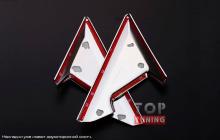 Накладки на крепления зеркал от компании TECH Design для Ниссан ИКС-Трэил Т32