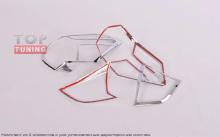 Реснички на задние фонари от производителя TECH Design для Ниссан ИКС-Трэил Т32