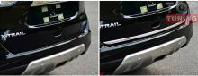 Молдинг кромки багажника от компании TECH Design на Ниссан ИКС-Трэил Т32
