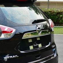 4541 Накладка на крышку багажника TECH Design на Nissan X-Trail T32