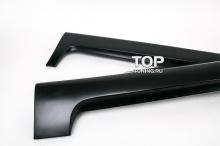 Комплект порогов - Обвес ST - Тюнинг Форд Фокус 2 (Седан).