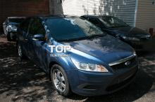 4548 Накладки на переднюю оптику рестайлинг на Ford Focus 2